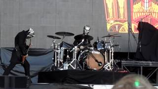 Ghost Drummer Gothenburg 2015