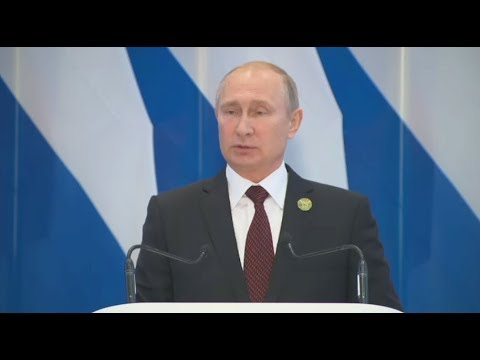 Putin holds press-conference at BRICS summit