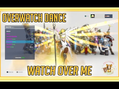 OVERWATCH dance edit | Watch Over Me by J-Kraken
