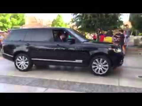 Video of Joseph Dresden Empey returning home