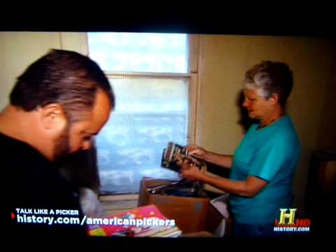 Comic Book Steal on American Pickers