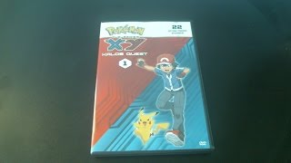 pokemon the series xy kalos quest set 1 dvd