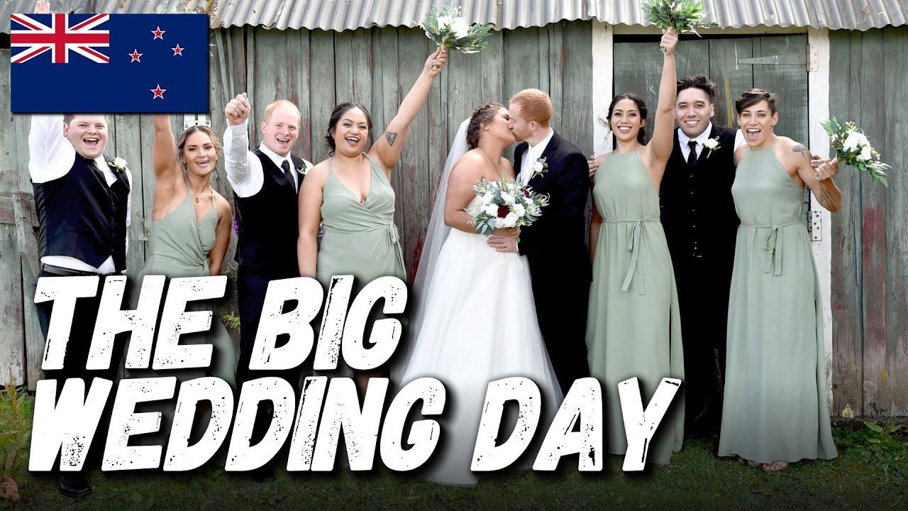 The Big Wedding Day! - NEW ZEALAND VLOG 04 [SEASON 1]