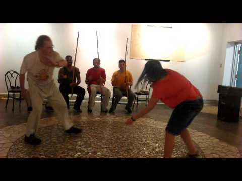 Capoeira Angola and the use of music in this Martial Art. Pittsburgh  at Ira Freeman Center PGH