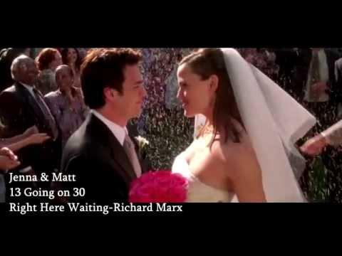 Jenna & Matt  13 going on 30  Right Here Waiting  Richard Marx