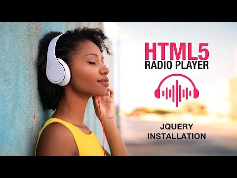 HTML5 Radio Player Plugin Jquery Installation Tutorial