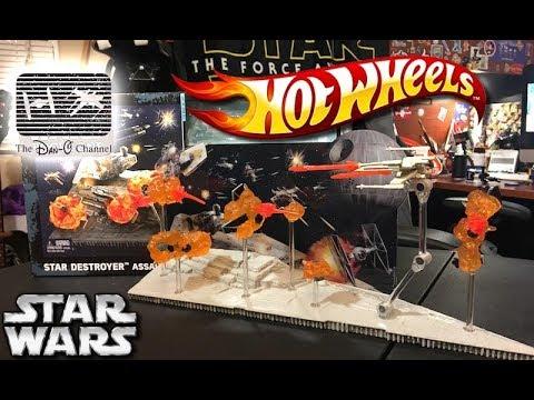 Star Wars Hot Wheels Star Destroyer Assault | Rogue One | The Dan-O Channel