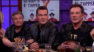 Het nieuwe vierde lid van de Toppers is… - RTL LATE NIGHT