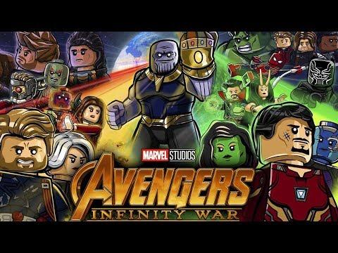 Lego Marvel Avengers Infinity War Lego Marvel Super Heroes 2