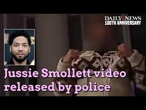 Chicago police release body cam video of Jussie Smollett encounter