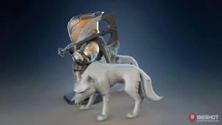 bungie destiny saladin wolf pack figure development turnaround video