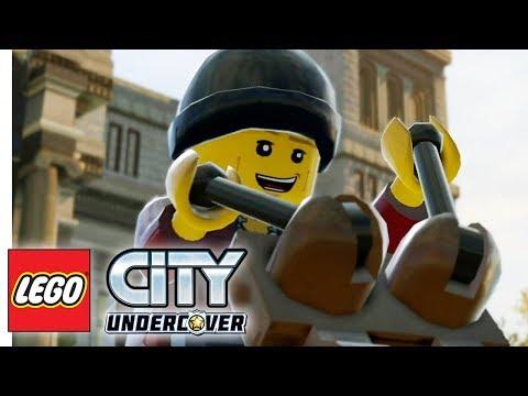 LEGO City Undercover #13 — Верхом на Динозавре {PS4} прохождение часть 13