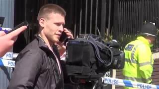 Теракт в Манчестере: видео с места событий