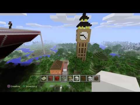 Building a Football Stadium on Minecraft