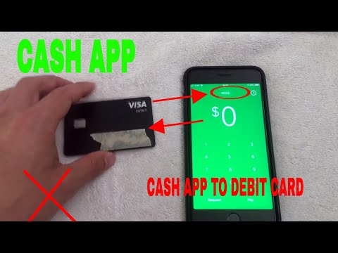 How to change your debit card info on cash app