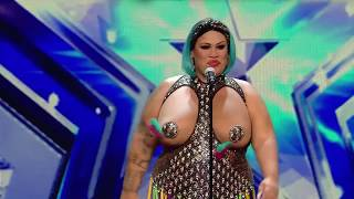 Most amazing talent show performance ever || girls with big boobs 2018