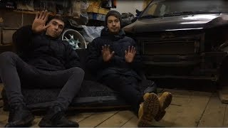 Первое видео. Наши машины.