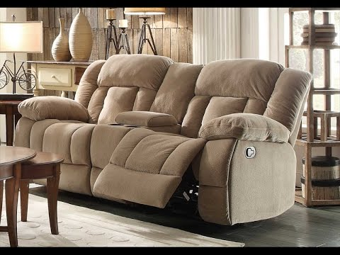 Double Recliner Chair Leather with Theater Table Review - Double Recliner Chair Leather With Theater Table Review - YouTube