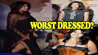 Ekta kapoor's wardrobe disasters| ekta kapoor