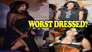 Ekta kapoor's wardrobe disasters| ekta kapoor