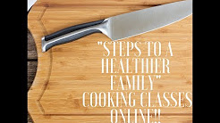 Foodie Gone Healthy Online Cooking Classes