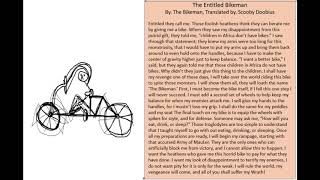 EFAP Lore: The Entitled Bikeman