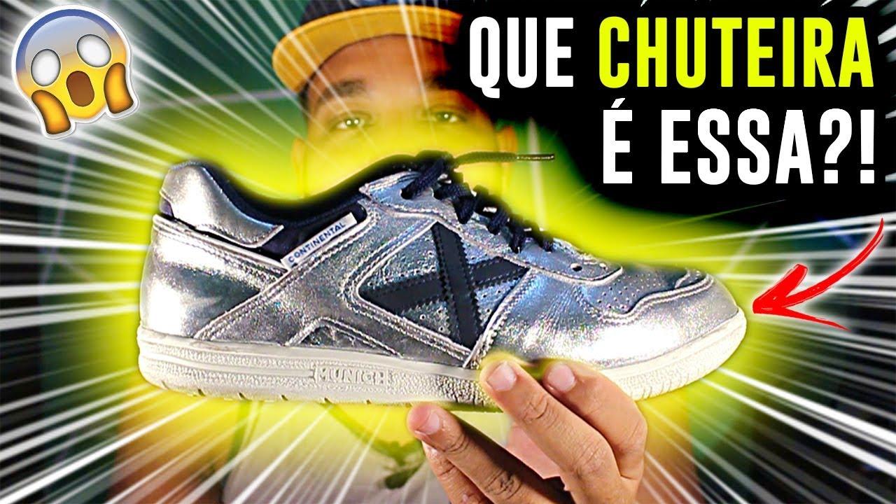 9f458c40f4 Review de Chuteira  MELHOR CHUTEIRA DE FUTSAL ! (MINHA NOVA CHUTEIRA ...