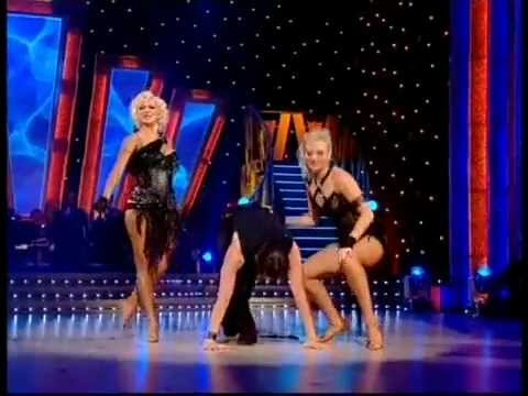 Brian, Kristina and Hayley perform a Tango/Rock N Roll Dance
