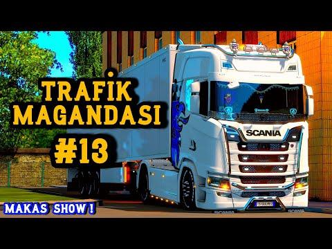 ⚠️Trafik Magandası #13⚠️Admine Tampon   Tehlikeli Hareketler   Euro Truck Simulator 2 Multiplayer 4K