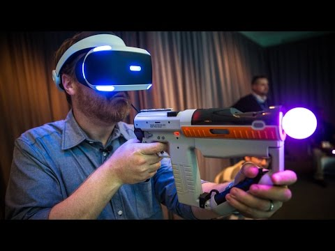 Hands-On: PlayStation Project Morpheus Games at E3 2015