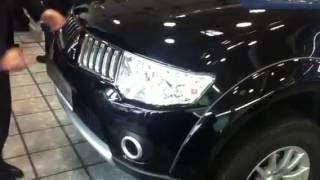 Mitsubishi Pajero Sport - Вскрытие замка капота крючком за 5 секунд