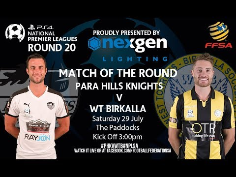 NPLSA Playstation 4 Round 20 Para Hills Knights vs WT Birkal