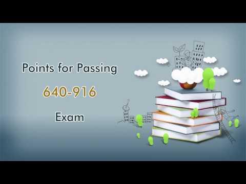 How to Pass Cisco 640-916 Exam? Passtcert Cisco CCNA Data Center 640-916 Exam Dumps
