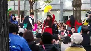 大阪の有名なダンサーの皆さんです   演技やダンスは綺麗でまた素敵なダ...
