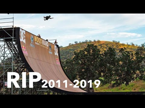 THE MEGA RAMP WAS TORN DOWN *Woodward West*