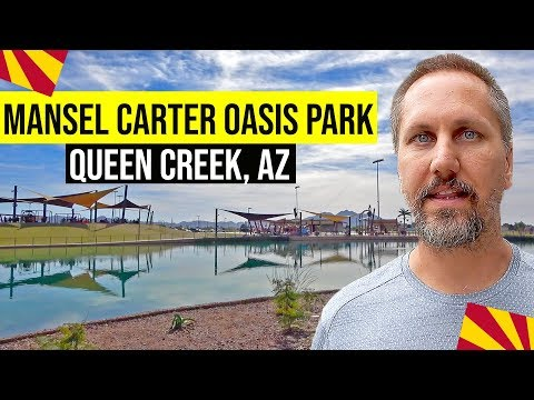 Queen Creek, Arizona: Mansel Carter Oasis Park (Moving / Living In Phoenix, Arizona Suburbs)