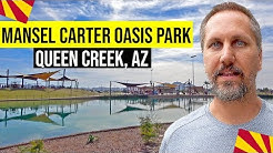 Queen Creek, Arizona: Mansel Carter Oasis Park (Living In Phoenix, Arizona Suburbs)