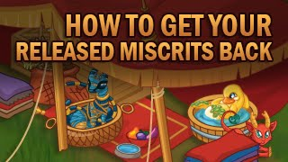 Repeat youtube video How To Get Your Released Miscrits Back