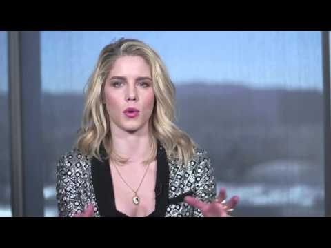 Download Youtube: Emily Bett Rickards Q&A with ET Online