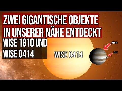 Zwei gigantische Objekte in unserer Nähe entdeckt - WISE 1810 und WISE 0414