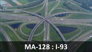 ma 128 i 95 i 93 interchange