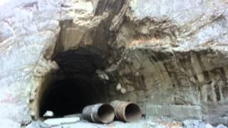 2014.01.04. Тунель в Кармадонском ущелье (Где сошёл ледник Колка)