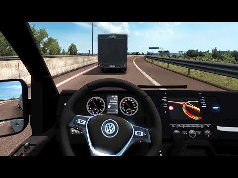 Euro Truck Simulator 2 - Volkswagen Crafter 2.0 TDI DSG