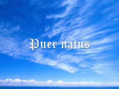 Canto gregoriano - Puer natus