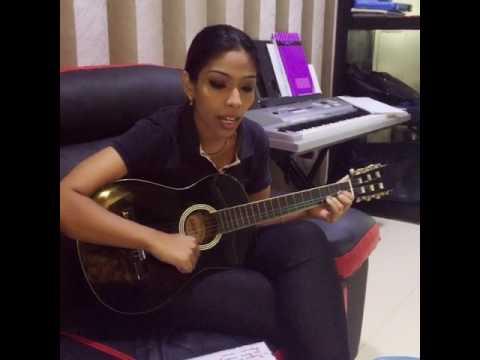Thayinum melai en Mel Anbe - guitar cover