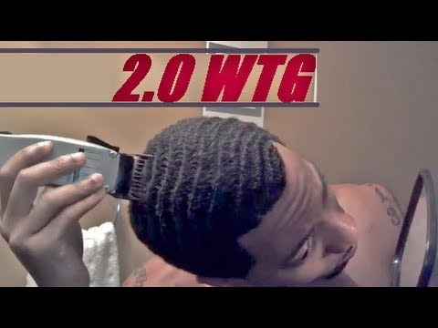 How To Cut Number 2 Guard Wtg Waves Caesar Haircut Yourself Youtube