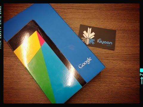 Google Nexus 7 2013 ( New 2nd Gen ) Unboxing and Hands On - iGyaan