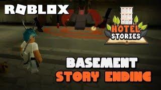 Roblox Hotel Stories 🏨 Basement Ending