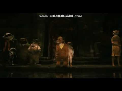 Fantastic Mr Fox Rat Is Killed By Mr Fox Youtube