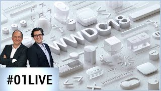 01LIVE spécial WWDC 2018 : la Keynote Apple commentée en direct par nos experts